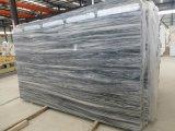 Lastra di marmo bianca della montagna della Cina Sichuan tagliata al formato per il controsoffitto/parte superiore di vanità