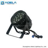 Alto potere impermeabile dello zoom 18X10W RGBW 4in1 IP65 LED dell'indicatore luminoso esterno di PARITÀ