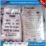 O fabricante chinês da soda cáustica fornece flocos da soda cáustica de 99%