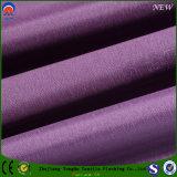 Tissu à la maison imperméable à l'eau tissé de rideau en arrêt total de tissu de textile de tissu de polyester pour le guichet