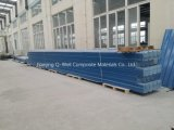 Толь цвета стеклоткани панели FRP Corrugated/стекла волокна обшивает панелями W172002