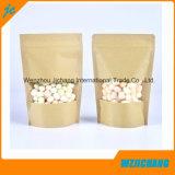 クラフト紙の袋かクラフト紙は袋を立てるまたはクラフト紙はジッパーが付いている袋を立てる