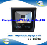 Projector quente do diodo emissor de luz luz/20W da luz de inundação do diodo emissor de luz da ESPIGA 20W do Sell de Yaye 18/do túnel diodo emissor de luz da ESPIGA 20W com Ce/RoHS