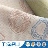 Tela que hace tictac hecha punto del colchón del telar jacquar para el colchón de la espuma de la memoria