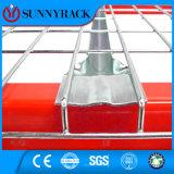 - Digitare il Decking del collegare aggiunto nervature d'acciaio per la cremagliera del pallet