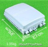 Серая/бежевая коробка прекращения ABS FTTH портов коробки распределения 48 оптического волокна