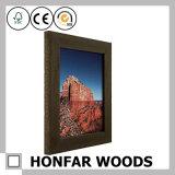 Frame de madeira preto da foto do retrato de Matt para a decoração da pensão do hotel