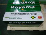 Caminhão do veículo automotriz de Koyama 12V 200ah SMF/bateria de carro N200