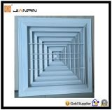 Dekorativer flacher quadratischer Aluminiumdiffuser (Zerstäuber)