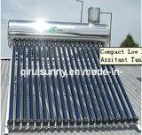 Riscaldatore solare dell'acqua calda di pressione bassa dell'acciaio inossidabile di Inox