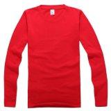 Maglietta all'ingrosso Cina, stampa del cotone di colore dell'OEM della maglietta con il vostro proprio marchio