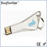 Metallschlüsseldreieck USB-Blitz-Laufwerk (XH-USB-168)