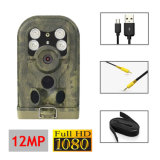 Câmera infravermelha pequena da fuga com visão noturna para a fiscalização e a caça animais dos animais selvagens