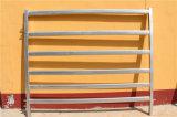 Panneaux galvanisés plongés chauds de yard de corral de bétail