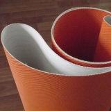 Courroie lourde du polyester PU/PVC Coveyor de qualité pour le tapis roulant/aéroport/le bagage de transport