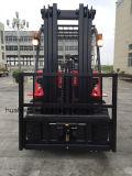 carretilla elevadora diesel 4.5Ton con el mástil triple 4.5Meter (HH45Z-N7-D, color rojo)