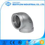 """ISO4144/En 10241 /ANSI 1/4-4 """" solides solubles 304/316 150lbs a vissé le coude de rue d'ajustage de précision de pipe"""