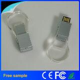 De promotie Stok van het Kristal USB van de Gravure van het Embleem van de Gift 8GB