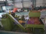 De horizontale Pers van het Briketteren van het Zaagsel van het Staal van de Snelheid voor Recycling