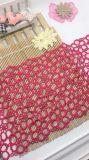 Ткань шнурка вышивки полиэфира шнурка Stock вышивки ширины оптовой продажи 18.5cm Nylon для вспомогательного оборудования одежд & домашней утески украшения тканиь & занавесов