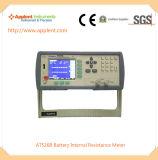 Appareil de contrôle de résistance interne de batterie avec la surface adjacente d'U-Disque (AT526B)