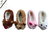 8つのカラー動物のヘッドプラシ天の屋内靴(RY-SL1634)