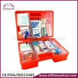 Casella medica Emergency del pronto soccorso della fabbrica di plastica del posto di lavoro dell'ABS