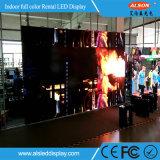 HD P2.5 farbenreiche LED Innenwand mit Baugruppen-Vorderseite-Service