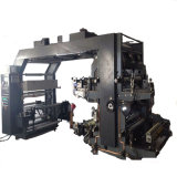 Machine d'impression de Flexo de film plastique de deux couleurs