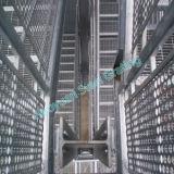 Стальная Grating проступь лестницы для пользы фабрики