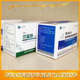 Rectángulo cosmético impreso aduana barata de la belleza de papel de los conjuntos completos (BLF-PBO344)