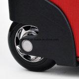 Hersteller-einfacher Entwurfs-Arbeitsweg-Laufkatze-Kasten, PU-lederner Gepäck-Koffer-Beutel mit zwei Rädern