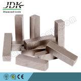 El segmento rectangular del diamante para el diamante de mármol consideró las herramientas de corte de la lámina