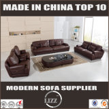 Modernes echtes Leder-Sofa für Wohnzimmer Divany