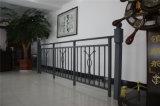 Balcone d'acciaio galvanizzato decorativo di alta qualità 10 di rotaia della lega di Haohan Alluminum