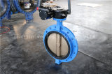 ISO5752 Series16 Roheisen-Griff-Rad Monoflange Drosselventil (D41X-10/16)