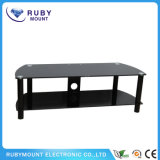 Stand plat lourd 2-Tier d'émerillon de LCD/LED TV
