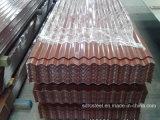 PPGI Gi-Farbe beschichtetes galvanisiertes gewölbtes Stahldach-Blatt