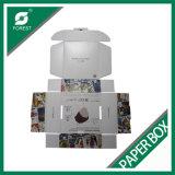 Rectángulo de la cartulina con precio durable modificado para requisitos particulares de la caja de cartón de la impresión