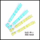 Wristband tejido promocional de encargo de la tela