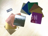 Edelstahl-Platte des Qualitäts-Spiegel-8k mit Farbe
