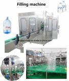 Automatischer 5L 7L 10L Zylinder waschende füllende mit einer Kappe bedeckende Flaschenabfüllmaschine des Geräten-3 in-1 für Haustier-Flasche