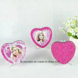 Caixa de empacotamento Mint do estanho dos doces pequenos feitos sob encomenda da forma do coração