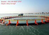 HDPE sich hin- und herbewegender Fisch-Rahmen im Meer