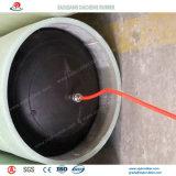 Tipo tapón de goma inflable de puente del tubo para la presión de la tubería de la prueba