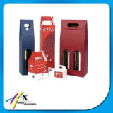 Kundenspezifisches steifes magnetisches Schliessen-Luxuxgeschenk-verpackenpappwein-Kasten