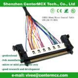 Harnais de câble électronique fait sur commande de Lvds avec la qualité