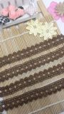 새로운 디자인 도매 공장 주식 2.5cm 폭 자수 폴리에스테 레이스 의복을%s 나일론 Guipure 손질 레이스 & 가정 직물 & 커튼