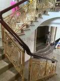 Treden die van het Metaal van het Hotel van de douane de Binnenlandse de Leuning van de Decoratie van het Roestvrij staal omheinen