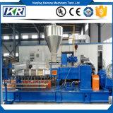 Estirador de tornillo gemelo PP/PVC/PE/Pet/CaCO3 para el estirador plástico de Masterbatch/Tse-75b EVA del derretimiento de la granulación subacuática adhesiva caliente plástica de la capacidad 400-500kg/H
